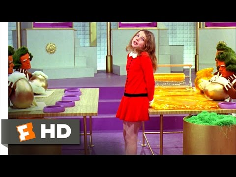 Willy Wonka & the Chocolate Factory - I Want It Now Scene (8/10) | Movieclips