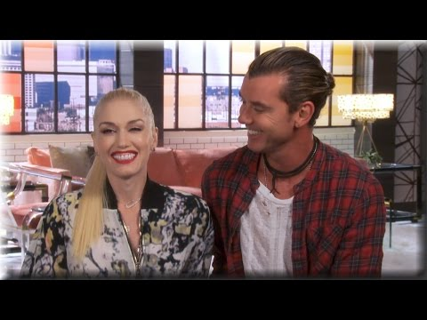 Gwen Stefani and Gavin Rossdale - Working Together - The Voice Season 7
