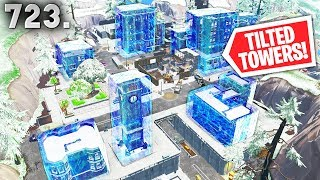 *FROZEN* TILTED TOWERS!! - Fortnite Funny WTF Fails and Daily Best Moments Ep.723