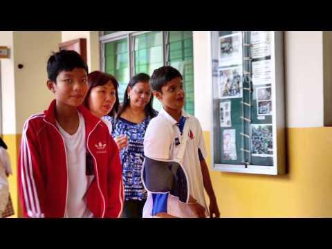 SABAH HERO GUIDES REUNITE WITH TANJONG KATONG PRIMARY SCHOOL STUDENTS