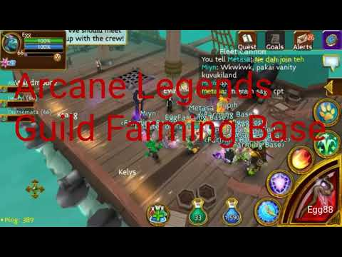 Arcane Legends - Farming Base Guild