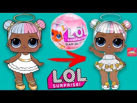 НОВОСТИ! ГЛЭМ ГЛИТТЕР Лол сюрприз ГЛАМУРНЫЕ куклы ЛОЛ Lol surprise Glam Glitter Дом кукол