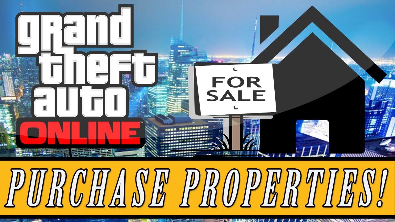 Gta 5 Online How To Buy Properties Garages
