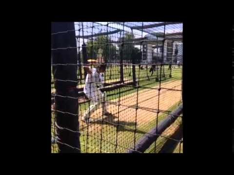 Rahul Dravid Practising at Lords Cricket Ground for MCC V/s ROW