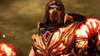 Mortal Kombat X - Scorpion Injustice Costume Ladder Walkthrough and Ending