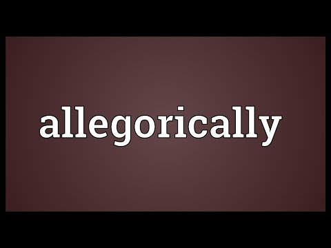 Header of allegorically