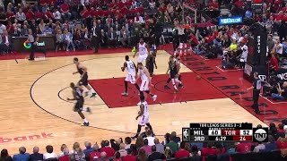 3rd Quarter, One Box Video: Toronto Raptors vs. Milwaukee Bucks