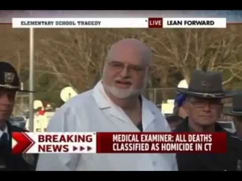 Sandy Hook Medical Examiner Wayne Carver is a very funny guy.