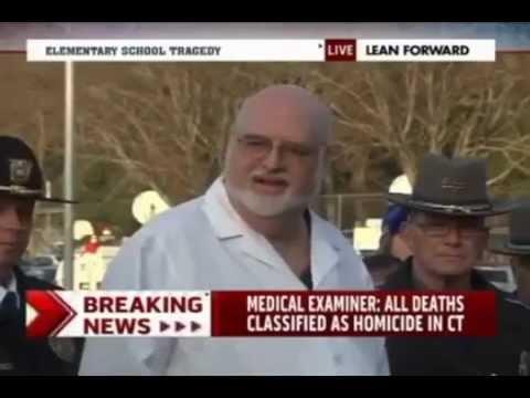 Sandy Hook Medical Examiner Wayne Carver is a very funny guy.