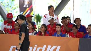 29th SEA Games 2017 Petanque Women Double Final CAMBODIA Vs THAILAND