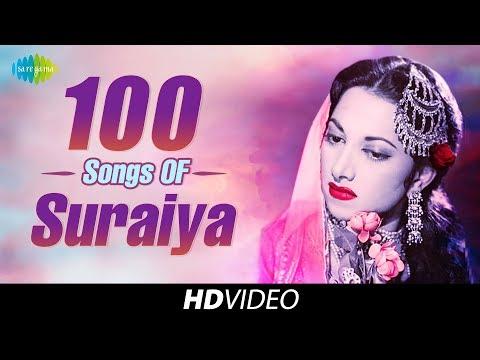 100 songs of Suraiya   सुरैया के 100 गाने   One Stop Jukebox
