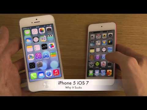 iPhone 5 iOS 7 - Why It Sucks