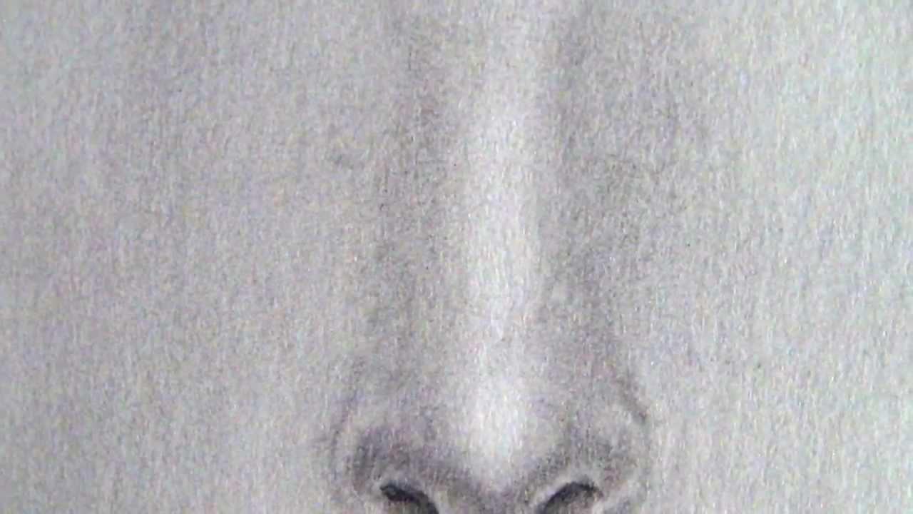 C mo dibujar una nariz f cilmente tutorial paso a paso - Pintar con acrilicos paso a paso ...