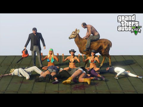 GTA 5 Best Moments: #24 (GTA V Fails, Brutal & Funny Moments Compilation)