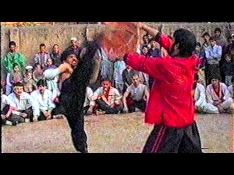 Kung Fu in Afghanistan(Ehsan Shafiq Body conditioning) part 2-4 New