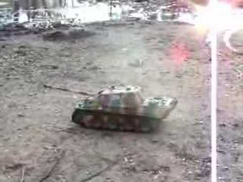 Jagdpanther gets its tracks dirty