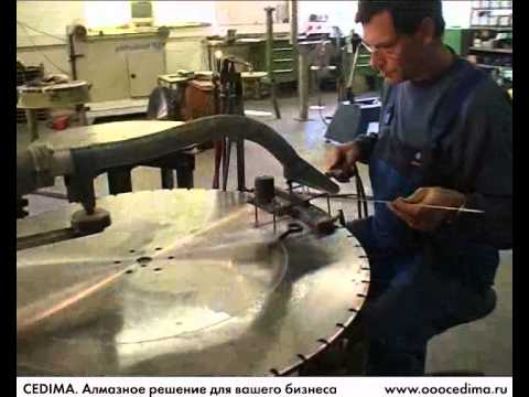 Производство алмазного инструмента CEDIMA