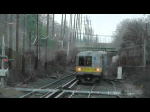 LIRR Train Action at Westbury with M3s and M7s Day and Night [HD]