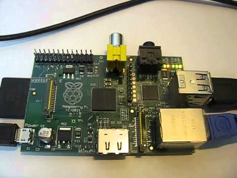 Raspberry Pi running G4KLX ircDDB Gateway software