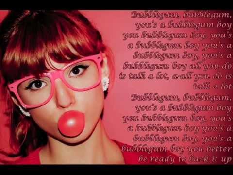Bubblegum Boy - Bella Thorne & Pia Mia (Lyrics On Screen)