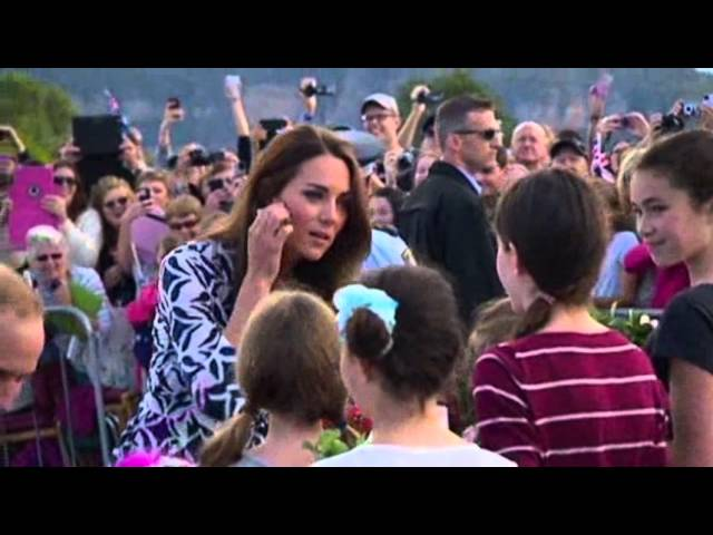 Raw: Royal Couple Visits Australia Mountains