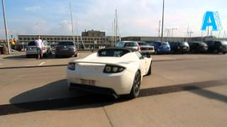 0-100 in 3.7 seconds, Tesla roadster. Very fast acceleration