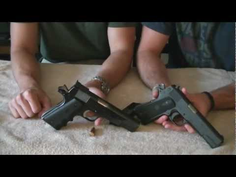 Colt vs ATI 1911 comparison (HD)