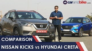 Comparison Review: Nissan Kicks vs Hyundai Creta | NDTV carandbike