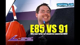 E85 vs Gasoline / 91 Octane / Race Gas / 93 Octane