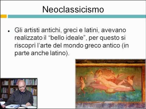 Neoclassicismo - Ripetizioni di Letteratura dell'800