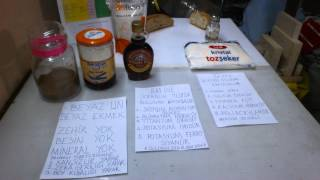 Üç zehir. Şeker, Tuz ve Beyaz Ekmekteki Zehirli Maddeler