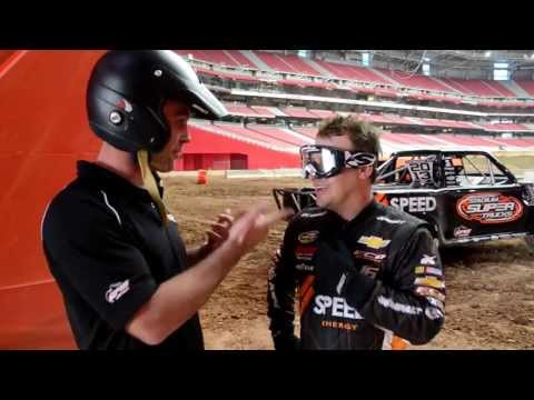 Robby Gordon's Stadium Super Trucks Webisode #1 Phoenix Arizona with #12 Nick Baumgartner
