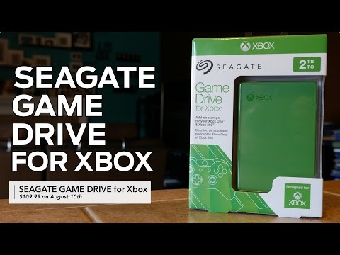 Seagate Game Drive for Xbox Review & Impressions [Gaming]