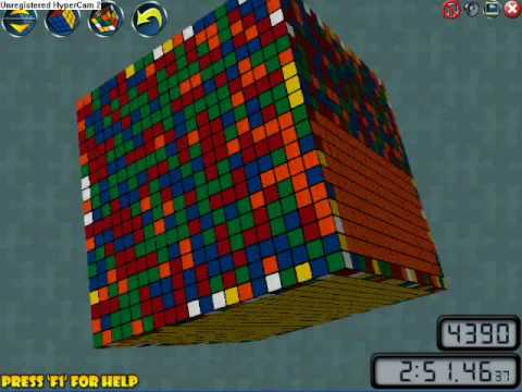 how to make the rubix cube go looser