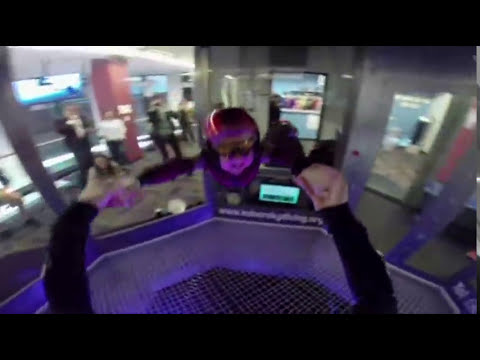 8-year-old Boy Gets His Wish: Fly Like Iron Man