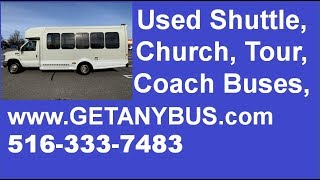 Used Buses For Sale | Stock#: A4976 | 2013 Ford E450 Non-CDL TurtleTop Wheelchair Shuttle Bus