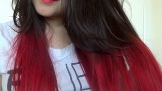 how to dye hair red without using bleach l loreal hicolors