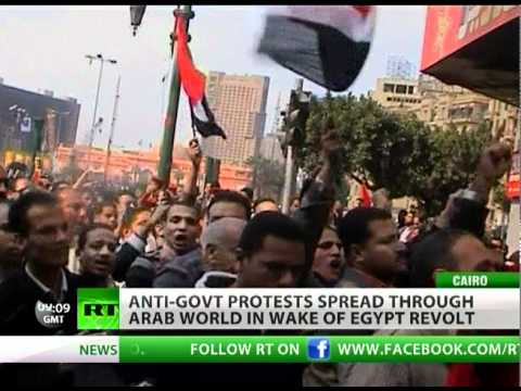 Violent protests in Iran, Bahrain as Egypt Army 'split between business & military'
