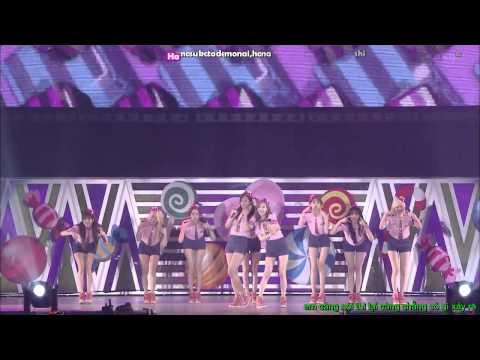 (720 HD) Beep Beep - Girls' Generation (Live Version) (Engsub+Vietsub+Kara)