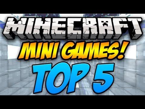 Top 5 Minecraft Mini Games (1.7.5)