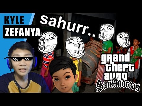 SAHUR SAHUR SAHUR!!!! - Grand Theft Auto Extreme Indonesia (DYOM#68)
