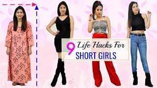 9 FASHION HACKS for SHORT Girls You MUST Try | #Fun #Sketch #Beauty #Anaysa