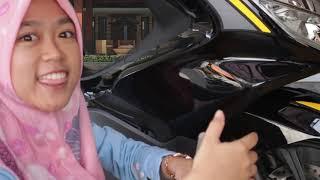 HONDA PCX 150 TUTORIAL PEMASANGAN BODY PROTECTOR