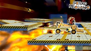 I Was CHASED by Explosives in the FINAL CHALLENGE!  - Scrap Mechanic Challenge Mode