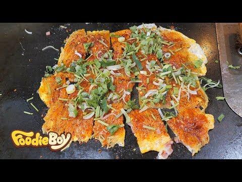 Kao Leng Mian (Stir-Fried Cold Noodles) / Korean Street Food / Daelim Central Market / Seoul Korea