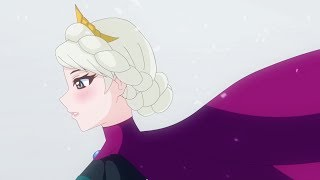Japanese Elsa (work-in-progress 4)
