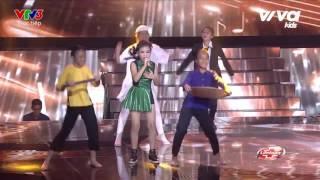 STRONGER (HD)  -  Lê Băng Giang - Liveshow 4 - The Voice Kids Viet Nam 2016