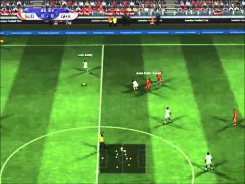 PES 2012 | Sudan - Ghana | Africa Cup of Nations 2013 Group B Matchday 3