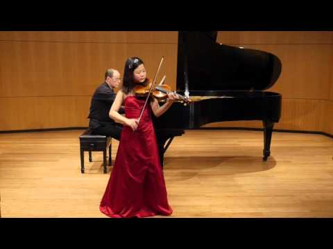 [Yoonah Park] J.C. Bach Viola Concerto in C minor 3rd Movement
