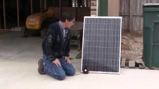 Solar Panel broken and Blocking Diodes How To fix repair Missouri Wind and Solar